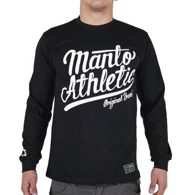 Лонгслив Manto black/white
