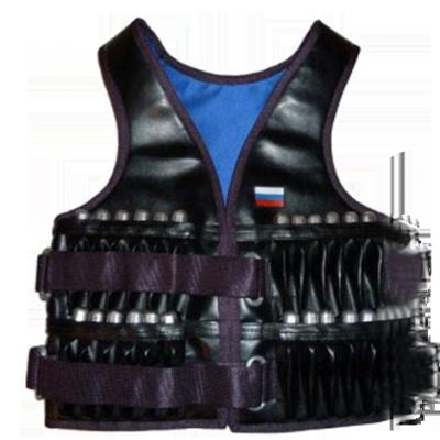 Жилет-утяжелитель «Профи» иск. кожа 12 кг