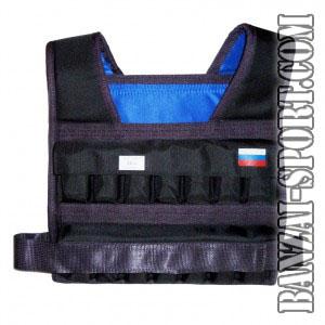 Жилет-утяжелитель «Компакт 2 » 28 кг