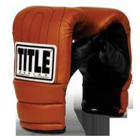 Перчатки боксерские Title снарядные Old School