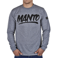 Лонгслив Manto Black LOGO