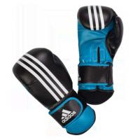 Перчатки боксерские Power Protection черно-синие