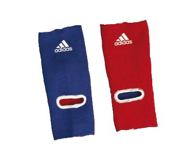 Защита голеностопа двухсторонняя Reversible Ankle Pad сине-красная