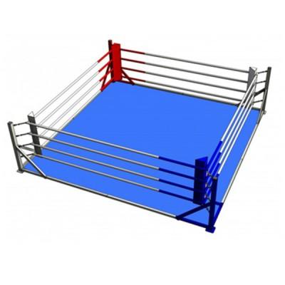 Ринг напольный на упорах 4-х канатный