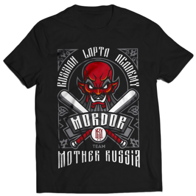 Футболка Mother Russia Академия лапты. Мордор