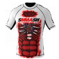 Рашгард Smmash Blood White 2.0 К/Р