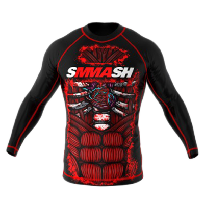 Рашгард Smmash Blood Black 2.0 Д/Р