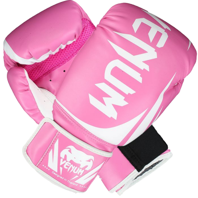 Боксерские перчатки Venum Challenger 2.0 (Розовые)
