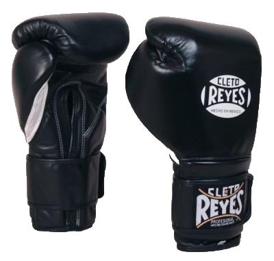 Боксерские перчатки Cleto Reyes (Черные)
