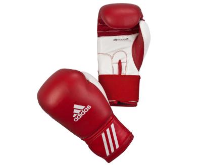 Перчатки боксерские Performer красно-белые