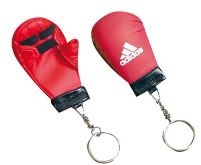 Брелок для ключей Key Chain Mini Karate Glove красный