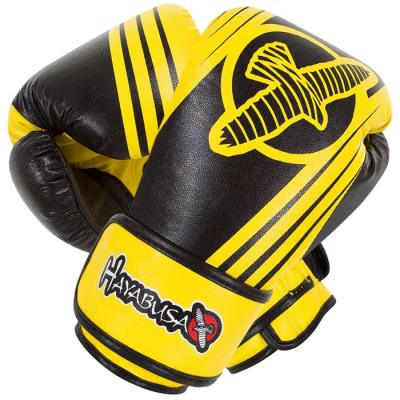 Боксерские перчатки Hayabusa Ikusa Recast (Желтые)