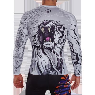 Рашгард Ground Game White Tiger