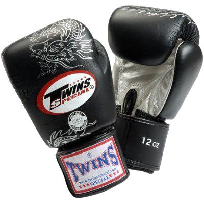 Перчатки боксерские на липучке от Twins Special