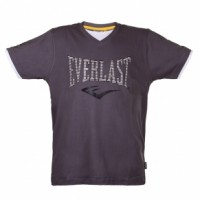 ФУТБОЛКА EVERLAST V NECK (Темно-серая)