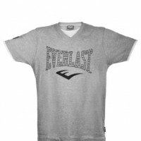 ФУТБОЛКА EVERLAST V NECK (Серая)