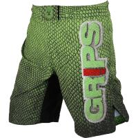 ММА шорты Grips Green Snake