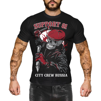 Футболка Hells Angels Support