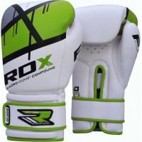 Боксерские перчатки RDX Green