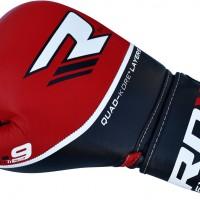Боксерские перчатки RDX чер/кр