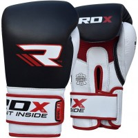 Боксерские перчатки RDX Gel Pro Black/White