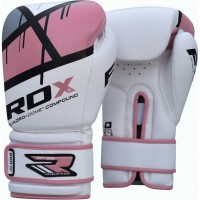 Боксерские перчатки RDX Pink