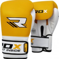 Боксерские перчатки RDX Gel Pro Yellow