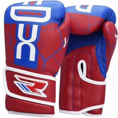 Детские боксерские перчатки RDX Blue/Red