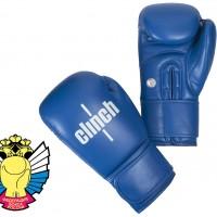Боксерские перчатки Clinch Olimp (Синие)