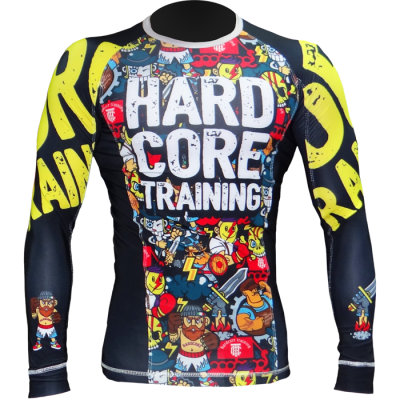 Рашгард Hardcore Training X Manto Doodles.