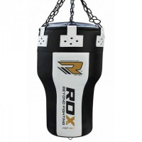 Мешок боксерский RDX PUNCH BAG ANGLE WHITE/BLACK