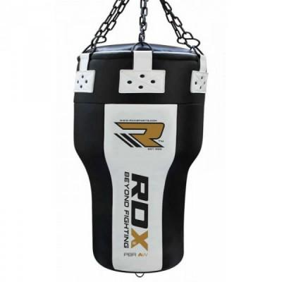 Мешок боксерский RDX PUNCH BAG ANGLE WHITE/BLACK
