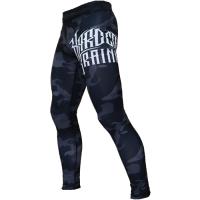 Компрессионные штаны Hardcore Training Night Camo