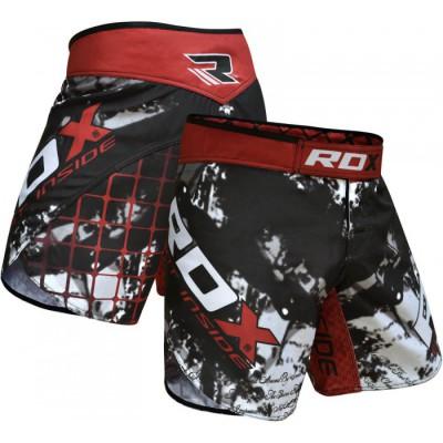 MMA шорты RDX R6 Multi Gray