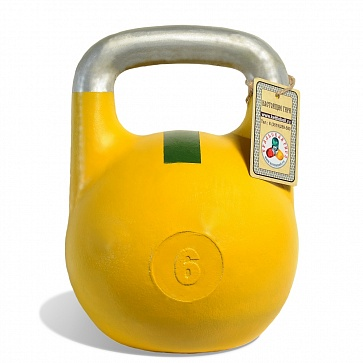Чемпионская гиря 6 кг