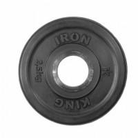 Диск Евро-Классик обрезиненный черный 2,5 кг.