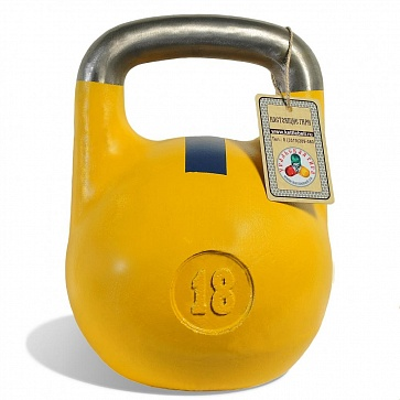 Чемпионская гиря 18 кг