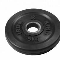 Диск Евро-Классик обрезиненный черный 5 кг.