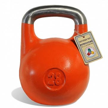 Чемпионская гиря 28 кг