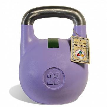 Чемпионская гиря 22 кг
