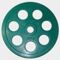 Олимпийский диск евро-классик с хватом «Ромашка», 10 кг.
