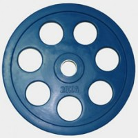 Олимпийский диск евро-классик с хватом «Ромашка», 20 кг.