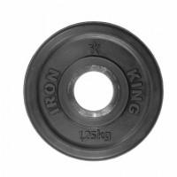 Диск Евро-Классик обрезиненный черный 1,25 кг.