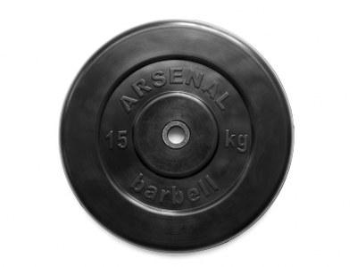 Диск обрезиненный черный 25 кг.
