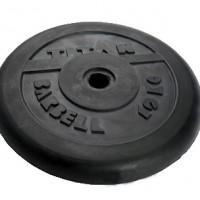 Диск обрезиненный черный 10 кг.