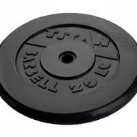 Диск обрезиненный черный 20 кг.