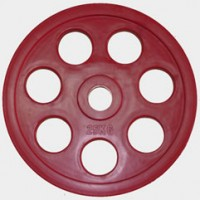 Олимпийский диск евро-классик с хватом «Ромашка», 25 кг.