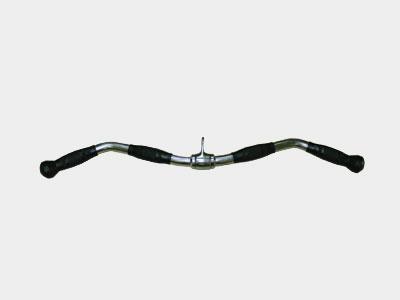 RHMA-01 Гриф для тяги волнообразный (хром/полиуретан, 711 мм.)
